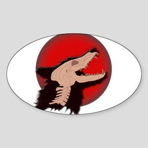 Blood Moon Werewolf Sticker