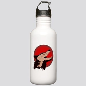 Blood Moon Werewolf Water Bottle