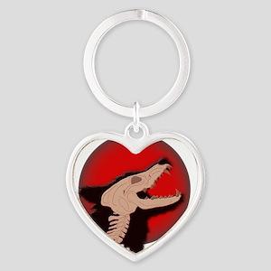 Blood Moon Werewolf Keychains