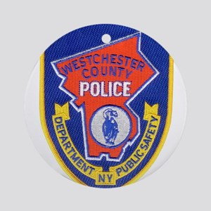 Westchester County Police Round Ornament