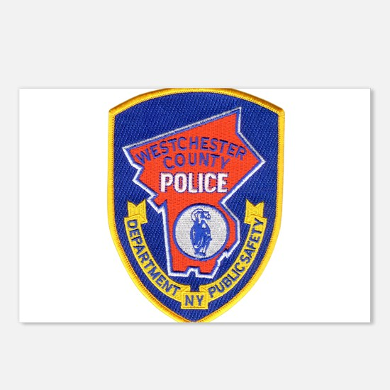 Westchester County Police Postcards (Package of 8)