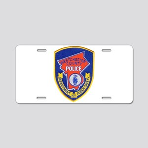 Westchester County Police Aluminum License Plate
