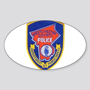Westchester County Police Sticker (Oval)