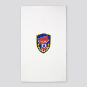 Westchester County Police Area Rug