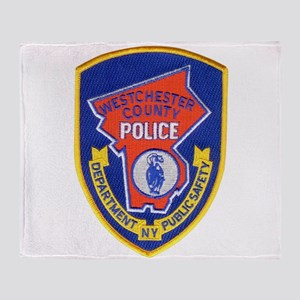 Westchester County Police Throw Blanket