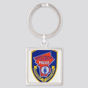 Westchester County Police Square Keychain