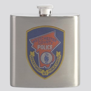 Westchester County Police Flask