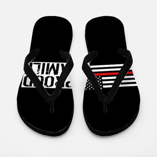 Firefighter: Proud Family (Black Flag, Flip Flops