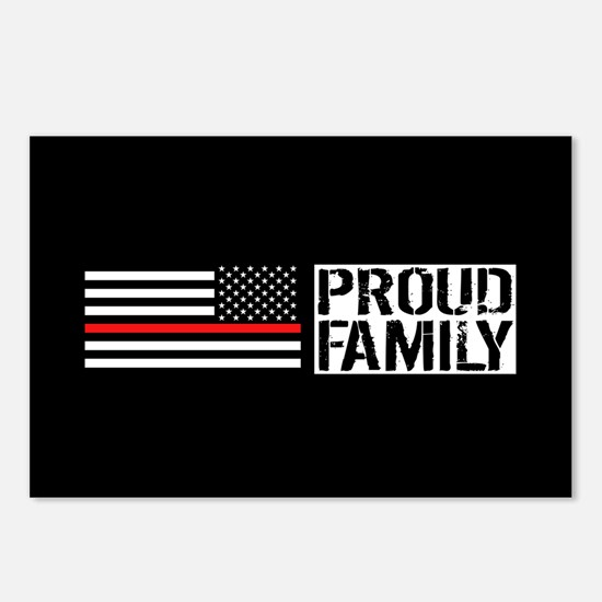 Firefighter: Proud Family Postcards (Package of 8)