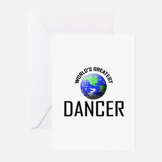 World's Greatest DANCER Greeting Cards (Pk of 10)