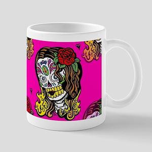 Sugar Skull Girl Mugs