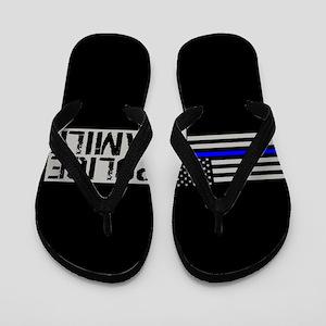 Police: Police Family (Black Flag, Blue Flip Flops