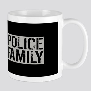 Police: Police Family (Black Flag, Blue Mug