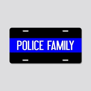 Police: Police Family (The Aluminum License Plate