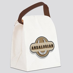 Andalusian Horse Breed Canvas Lunch Bag