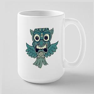 Tiki Owl Mugs
