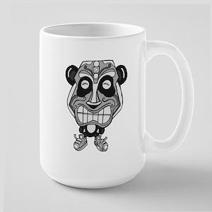Tiki Panda Mugs