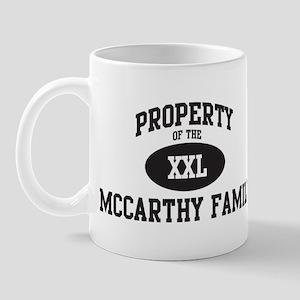 Property of Mccarthy Family Mug
