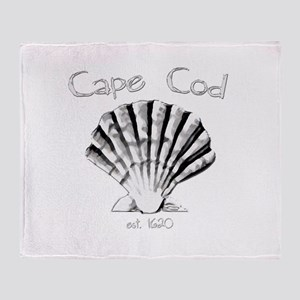 Cape Cod Est.1620 Throw Blanket