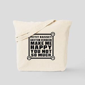 Petit Basset Griffon Vendeen Dog Make Me Tote Bag