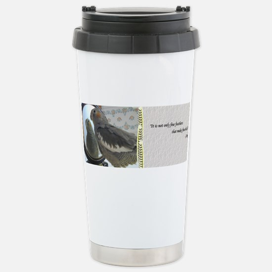 Fine Feathers Cockatiel Mugs