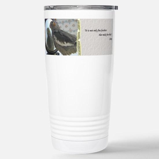 Fine Feathers Cockatiel Mugs