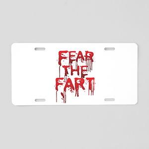 Fear Aluminum License Plate
