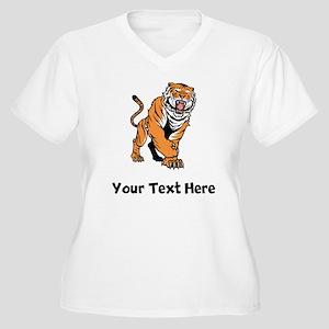 Big Tiger Plus Size T-Shirt