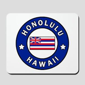 Honolulu Hawaii Mousepad
