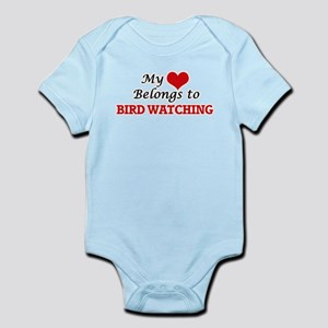 My heart belongs to Bird Watching Body Suit