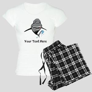 Cartoon Shark Pajamas