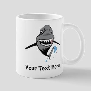 Cartoon Shark Mugs