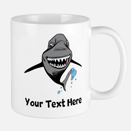 Cartoon Shark Mugs