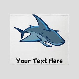 Bull Shark Throw Blanket