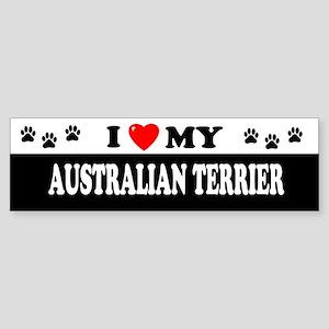 AUSTRALIAN TERRIER Bumper Sticker