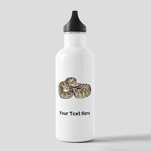 Rattlesnake Water Bottle