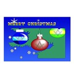 Masonic Christmas Tree Postcards (Package of 8)