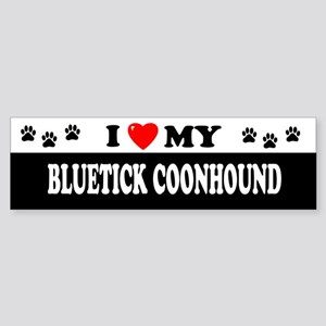 BLUETICK COONHOUND Bumper Sticker