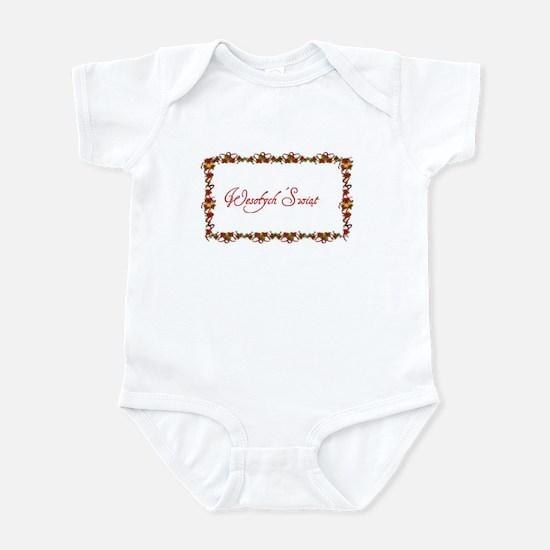 Polish Christmas Infant Bodysuit