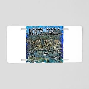 Monte Carlo Aluminum License Plate