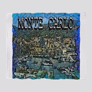 Monte Carlo Throw Blanket