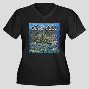 Monte Carlo Plus Size T-Shirt