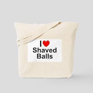 Shaved Balls Tote Bag