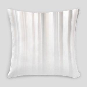 Faint Natural Stripes Everyday Pillow