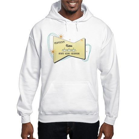 Instant Knitter Hooded Sweatshirt