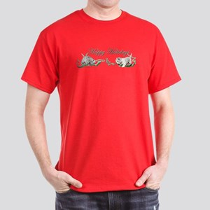 Westhighland Terrier Happy Ho Dark T-Shirt