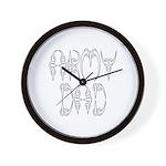 Army Dad Wall Clock