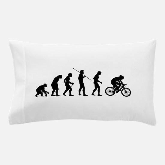 Funny Evolution of man biker Pillow Case
