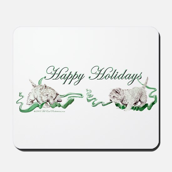 Westhighland Terrier Happy Ho Mousepad