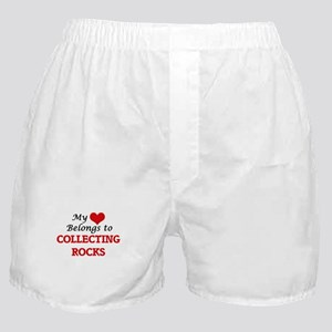 My heart belongs to Collecting Rocks Boxer Shorts